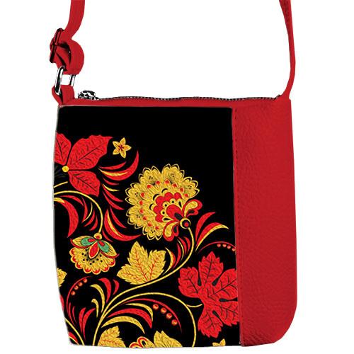 Детская сумочка для девочки Принцесса с принтом Цветы