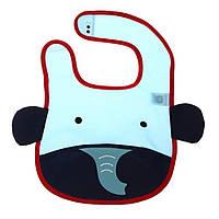 Милый мультфильм животных детские младенческой водонепроницаемый нагрудники шарф кормление поставки