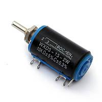 Wxd3-13-2вт 10 кОм многооборотный проволочный потенциометр роторный