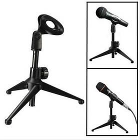 Настольный регулируемый металлический стол Штатив Микрофон Mic Stand Holder с клипсой - 1TopShop