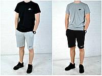 Трикотажные шорты и футболка найк (Nike), мужские реплика, фото 1