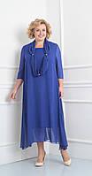 Платье Novella Sharm-2870в белорусский трикотаж, василек, 60