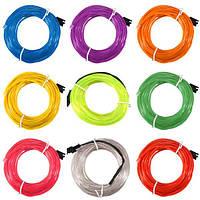 5м одного цвета 5В USB гибкий неон провода EL свет танцевальная вечеринка декор свет