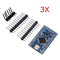 3шт 3.3 В 8мгц схема atmega328p-AU и про мини-доска микроконтроллера для Arduino