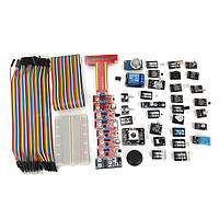 Geekcreit® 37 Sensor Module Kit With T Type GPIO Jumper Cable Breadboard For Raspberry Pi Carton Box Package