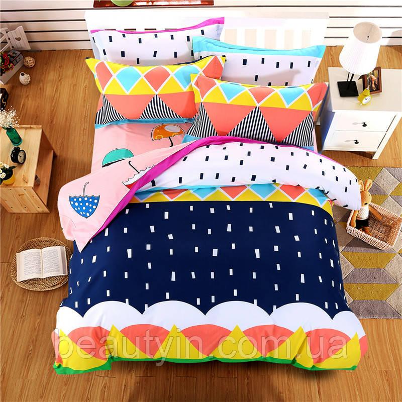 Комплект постельного белья Зонт (двуспальный-евро) Berni