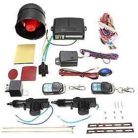 Универсальный автомобиль центральный замок дистанционного комплект датчика автосигнализации иммобилайзер шок-1TopShop