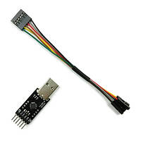 USB для конвертера TTL модуль и ft232 фирмы ftdi выставке MWC multiwii Arduino с 6р Дюпон линия