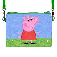 Детская сумочка для девочки с принтом Peppa Pig