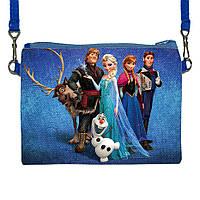 Детская сумочка для девочки с принтом Холодное сердце