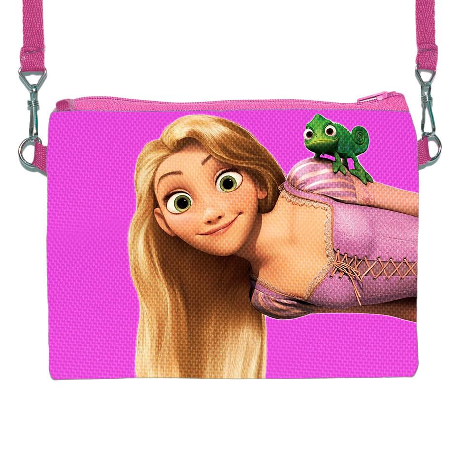 Детская сумочка клатч для девочки с принтом Рапунцель