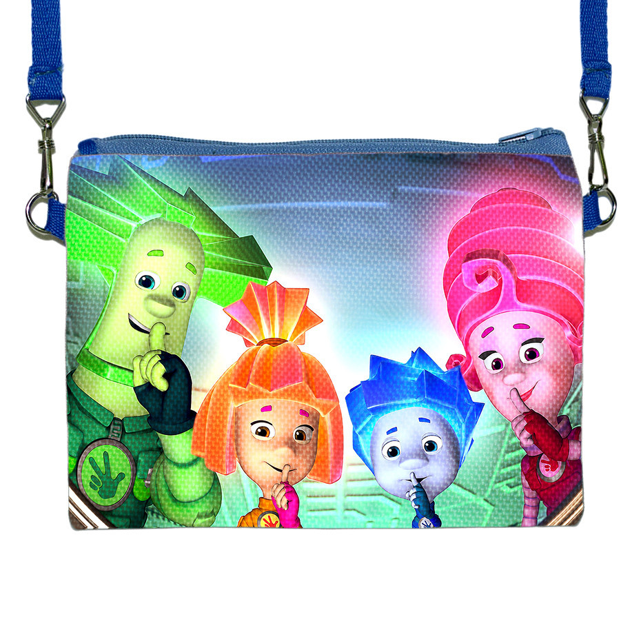 Детская сумочка с принтом Фиксики