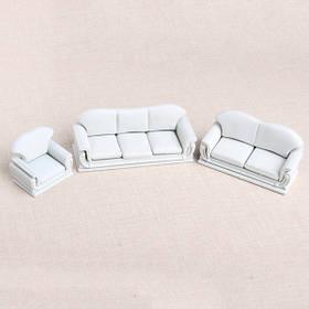 Модель материал крытая сцена украшения АБС диван сет 1:30