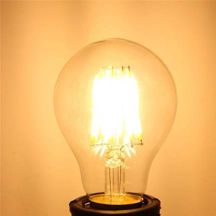 E27 8W Белый/теплый белый светодиодная LED COB Ретро Эдисон лампа 85-265, фото 2