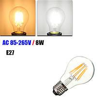 E27 8W Белый/теплый белый светодиодная LED COB Ретро Эдисон лампа 85-265, фото 3