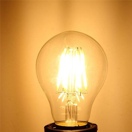E27 4W белый/теплый белый початок LED накаливания ретро щелочных луковицы 85-265, фото 2