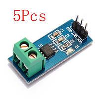 5шт 30А новый диапазон датчика тока acs712 модуль совет