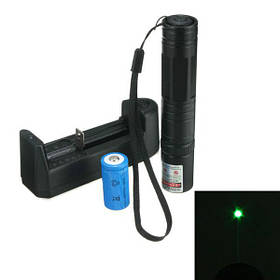 5 МВт 532 нм зеленая лазерная указка Pen высокая мощность +16340 батарея+зарядное устройство