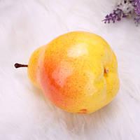 5 шт фрукты искусственные груша плесень младенца реквизит поддельные пластиковые фрукты украшения дома плесень