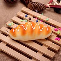 2pcs whomug тригонометрический кремовый хлеб подпирает кухонный шкаф искусственная модель хлеба