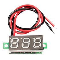 3шт Geekcreit® Зеленый 0,28 дюйма 2.6V-30V Мини цифровой вольтметр тестер напряжения Meter, фото 3