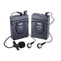 Боя с WM5-про беспроводной петличным клип-на микрофонный системы аудио студия рекордер микрофона для CANON SONY