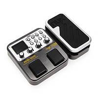 Nux педали мг-100 мульти-процессор эффектов гитарный эффект