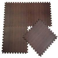 10шт младенца циновка Ева деревянное зерно земле ковер сплит совместное головоломки