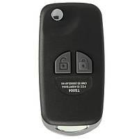 2 BTN дистанционного флип ключей оболочки складной случай комплект для Suzuki Ignis Swift Grand Vitara