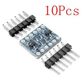 10шт два канала I2C в Мск уровень логики конвертер двунаправленный модуль, фото 2