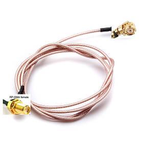 100см расширение РП SMA женский переборки до U.Флорида протокол IPX разъем кабель пигтейл 1TopShop