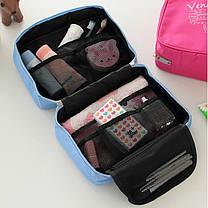 Водонепроницаемый хранение дорожная сумка туалетных мыть макияж случай косметический мешок висит организатор, фото 3