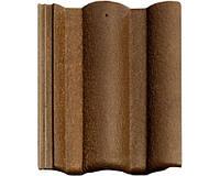 Цементно-песчаная черепица BRAAS Адрия коричнево-золотая (montano)