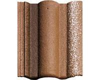Цементно-песчаная черепица BRAAS Адрия коричневая (vecchio)