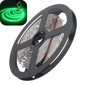 5м 3528 SMD 300 LED с зеленым не водонепроницаемый Светодиодные полосы огни DC 12V