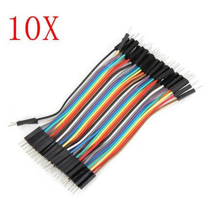 400 штук 10cm для мужчин Jumper Кабель Dupont Провод для Arduino, фото 2