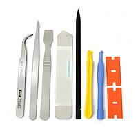 9 в 1 Ремонтные открытия для рычага инструменты для ремонта сотовых телефонов ноутбук комплект