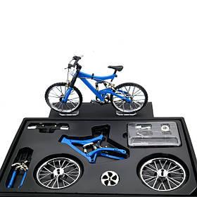 Имитационная модель велосипеда DIY сплава горный/дорога велосипед установить украшения подарок модель