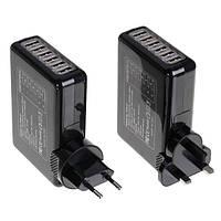 6 USB порт 5В адаптер переменного тока 4а США ЕС Великобритании плагин Au зарядное устройство для смартфонов