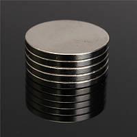 5шт N50 в сильные круглые магниты 20мм х 2мм редкоземельные неодимовые магниты