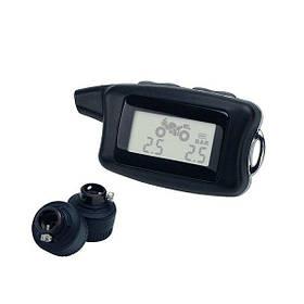 Мотоцикл м2 датчики пси/бар дисплей беспроводной давления в шинах и температуры системы мониторинга 1TopShop