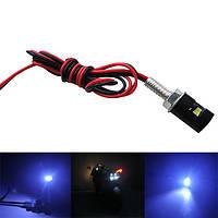 5630 1SMD белый LED номерной знак винта болт лампочка для мотоциклов и авто автомобилей