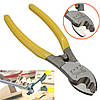 6inch кабельный резак пластиковая ручка электрический зачистки проводов резки комплект плоскогубцы инструмент, фото 3