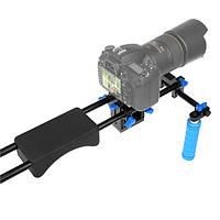 15мм РЛ-04 Держатель DSLR вышке видео стабилизатор плеча для Canon 7d 5d ЭОС Mark II III DSLR эксцентрикera Cam