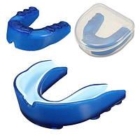 Синий капу зубы защитник каппу кусок для Баскетбол Бокс тхэквондо
