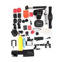 36 В 1 GoPro Аксессуары Sportscamera Set For GoPro HD Hero 4 Сессия 2 3 4 3 Plus Xiaomi YI камера SJ4000