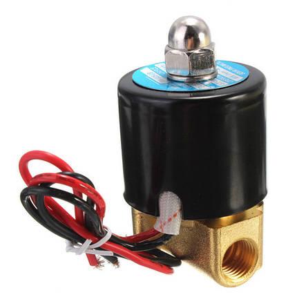 1/4 дюйма электрический электромагнитный клапан для воздуха воды газа дизель 12В DC-1TopShop, фото 2