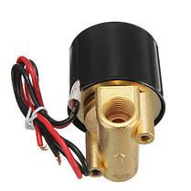 1/4 дюйма электрический электромагнитный клапан для воздуха воды газа дизель 12В DC-1TopShop, фото 3