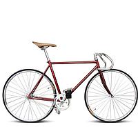 Ретро гоночный велосипед Неубирающимся велосипед в любом случае и ступицы обшивки кадр