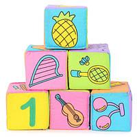 Младенец ребенок дети 7см ткань строительные блоки образовательные игрушки погремушки набор
